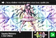 Danganronpa V3 Bonus Mode Card Sayaka Maizono U FR