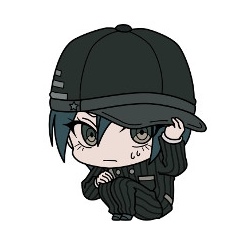 File:New Danganronpa V3 Rubberstrap ViVimus Collection Shuichi Saihara.png