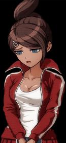 Danganronpa 1 Aoi Asahina Halfbody Sprite (PSP) (14)