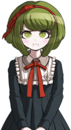 Danganronpa Another Episode Monaca Towa Halfbody Sprite (Vita) (10)