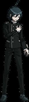 Danganronpa V3 Shuichi Saihara Fullbody Sprite (No Hat) (38)
