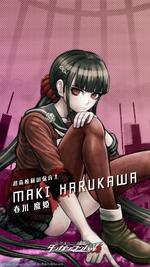Digital MonoMono Machine Maki Harukawa iPhone wallpaper