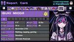 Ibuki Mioda's Report Card Page 1
