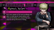 Rantaro Amami Report Card Page 1 (For Kaede)
