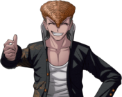 Danganronpa 1 Mondo Owada Halfbody Sprite (PSP) (4)