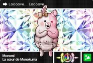 Danganronpa V3 Bonus Mode Card Monomi U FR