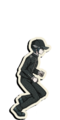 Danganronpa V3 Shuichi Saihara Death Road of Despair Sprite (Hat) 03