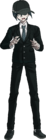 Danganronpa V3 Shuichi Saihara Fullbody Sprite (High School Uniform) (3)