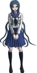 Danganronpa V3 Tsumugi Shirogane Fullbody Sprite (High School Uniform) (3)