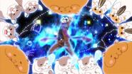 Gundam parodies Saint Seiya with his hamsters