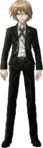 Danganronpa 2 Byakuya Togami Fullbody Sprite (No Glasses) (4)
