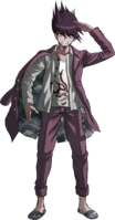 Danganronpa V3 Kaito Momota Fullbody Sprite (2)