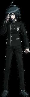 Danganronpa V3 Shuichi Saihara Fullbody Sprite (No Hat) (23)