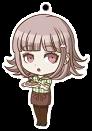 Danganronpa 1.2 Reload x Sweets Paradise Keychain Chiaki Nanami