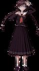 Danganronpa 1 Toko Fukawa Full Body Sprite (PSP) (5)