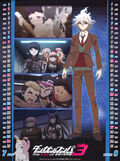 Danganronpa 3 Future Arc 2017 Calendar - July and August Page