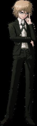 File:Byakuya Togami Fullbody Sprite (9).png