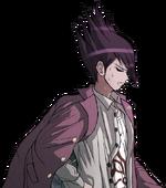 Danganronpa V3 Bonus Mode Kaito Momota Sprite (Redrawn) (Vita) (7)