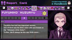Fuyuhiko Kuzuryu's Report Card Page 4