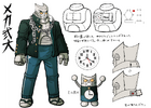 Danganronpa 2 Character Design Profile Nekomaru Nidai (Mechamaru)