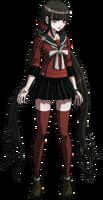 Danganronpa V3 Maki Harukawa Fullbody Sprite (15)