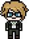 Byakuya Togami School Mode Pixel Icon (1)