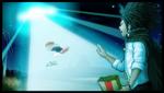 Danganronpa 1 CG - Yasuhiro Hagakure's claim about aliens