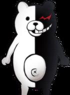Danganronpa 1 Monokuma Halfbody Sprite (PSP) (1)
