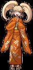 Danganronpa 2 Hiyoko Saionji Fullbody Sprite (PSP) (2)
