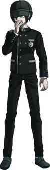 Danganronpa V3 Shuichi Saihara Fullbody Sprite (Hat) (22)