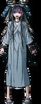 Ibuki Mioda Fullbody Sprite (Hospital Gown) (1)