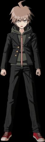 Danganronpa 1 Demo Makoto Naegi 01