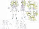 Danganronpa 3 - Character Profiles - Junko Enoshima (Sketches)