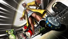 Danganronpa V3 CG - Angie Yonaga smashing the Flashback Light