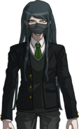 Danganronpa V3 Korekiyo Shinguji Halfbody Sprite (High School Uniform) (1)