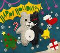 Digital MonoMono Machine Monokuma Holidays Android wallpaper
