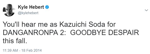 File:Danganronpa 2 Kyle Hebert Kazuichi Soda VA Tweet.png