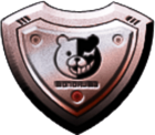 Danganronpa 2 Monokuma Panic Talk Action Shield 01