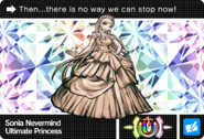 Danganronpa V3 Bonus Mode Card Sonia Nevermind U ENG