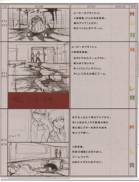 Danganronpa Visual Fanbook Cutscene Storyboards (06)