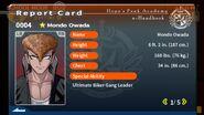 Mondo Owada Report Card Page 1