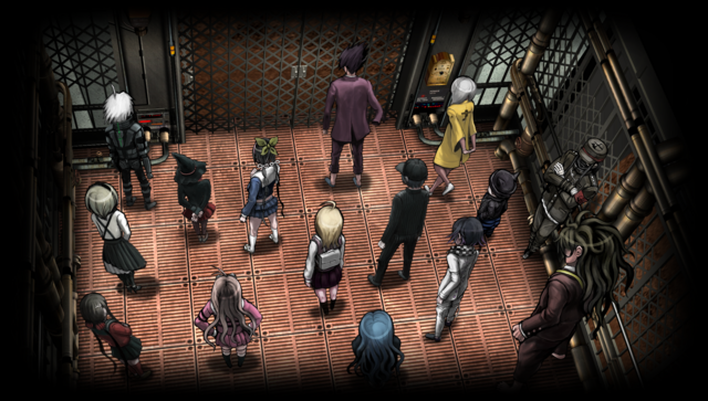 File:Danganronpa V3 CG - Class Trial Elevator (Chapter 1).png