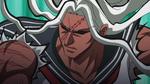 Danganronpa the Animation (Episode 08) - Sakura fighting Monokuma (3)