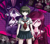 Digital MonoMono Machine Danganronpa Another Episode Cast Android wallpaper