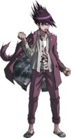 Danganronpa V3 Kaito Momota Fullbody Sprite (9)