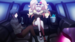 Despair Arc Episode 5 - Mukuro and Junko on the way back from the airport