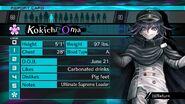 Kokichi Oma Report Card Page 0 (For Shuichi)