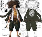 Danganronpa 1 Character Design Profile Yasuhiro Hagakure