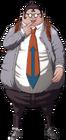 Danganronpa Hifumi Yamada Fullbody Sprite (PSP) (15)