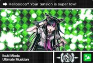 Danganronpa V3 Bonus Mode Card Ibuki Mioda N ENG